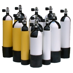 Diving air cylinders