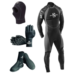 Diving wet suit